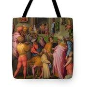 Joseph Sold To Potiphar Tote Bag