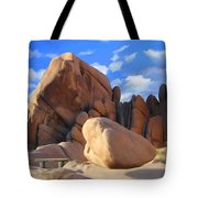 Joshua Tree Anomoly Tote Bag