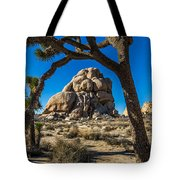 Joshua Tree Jumbo Rocks Tote Bag
