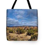 Joshua Tree National Park Indian Cove Rocks Tote Bag