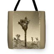 Joshua Tree National Park - Old Vintage Sepia Tote Bag