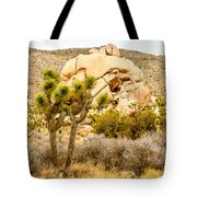 Joshua Tree National Park Skull Rock Tote Bag
