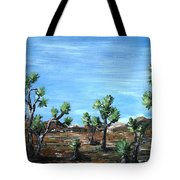 Joshua Trees Tote Bag by Anastasiya Malakhova