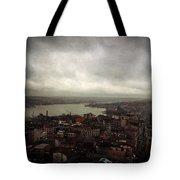 jour de pluie a Istanbul III Tote Bag