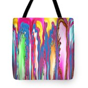 Abstract Journalist Beheaded People Leaning Against The Wall Tote Bag