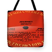 Journey - Infinity Side 2 Tote Bag