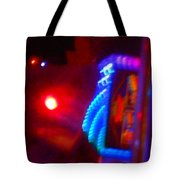 Journey Of The Deep Space Robot Tote Bag