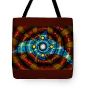 Journey To The Center Tote Bag