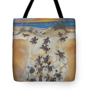 Journey To The Millenium Tote Bag
