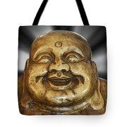 Jovial Buddha Tote Bag