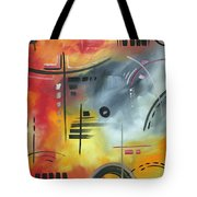 Joy And Happiness By Madart Tote Bag