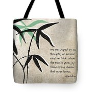 Joy Tote Bag by Linda Woods