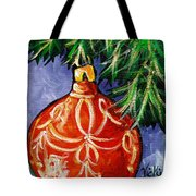 Joy Tote Bag by Vickie Warner