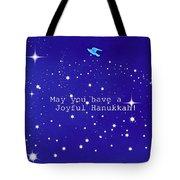 Joyful Hanukkah Card  Tote Bag