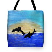 Joyful In Hope Tote Bag