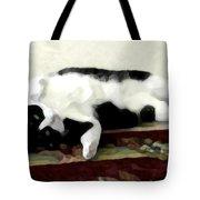 Joyful Kitty Tote Bag