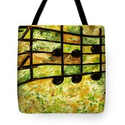Joyful - Lemon Lime Tote Bag