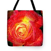 Joyful Rose Tote Bag