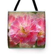 Joyful Spring Tulips Tote Bag