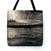 Joyful Sunny Splashes Tote Bag