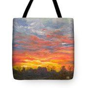 Joyful Sunset Tote Bag