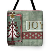 Joyful Tree Card Tote Bag