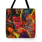 Joyfully Living Life Anew Tote Bag