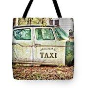 Juarez Taxi Tote Bag