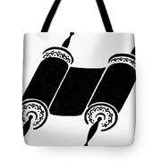 Judaism Torah Tote Bag