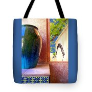 Jug And Window Tote Bag