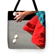 Juggler Tote Bag by Diana Angstadt