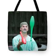 Juggling Tote Bag by Dwight Cook