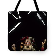 Juggling Fun Tote Bag by Bob Christopher