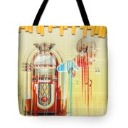 Juke Box Tote Bag