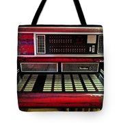 Jukebox - Wurlitzer X7 Tote Bag