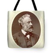 Jules Verne (1828-1905) Tote Bag