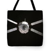 Jules Verne Automated Transfer Vehicle Tote Bag
