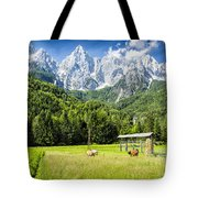 Julian Alps Farm Tote Bag