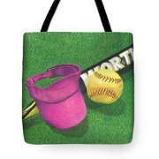 Julia's Game Tote Bag by Troy Levesque