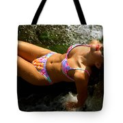 Julie Lay Waterfall Tote Bag