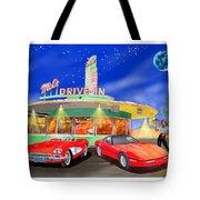 Julies Corvettes Tote Bag by Jack Pumphrey