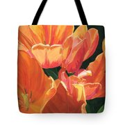 Julie's Tulips Tote Bag