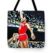 Julius Erving Tote Bag