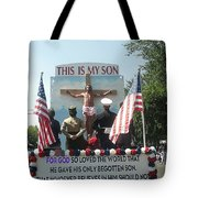 July 4th Float The Potter's House Prescott Arizona 2002 Tote Bag by David Lee Guss