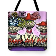 July 4th Tote Bag by Kevin Middleton