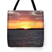 July 4th Sunset Tote Bag by John Telfer