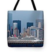 July 7 2014 - Carnival Splendor At New York City - Image 1674-01 Tote Bag