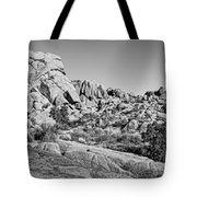 Jumbo Rocks Bw Tote Bag