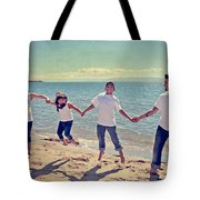 Jump For Joy Tote Bag by Laurie Search