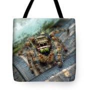 Jumper Spider 3 Tote Bag